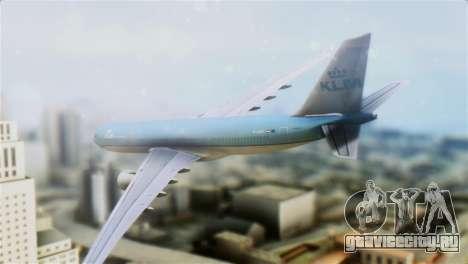 Airbus A330-200 KLM New Livery для GTA San Andreas вид слева