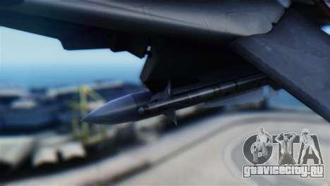 F-14D Super Tomcat Halloween Pumpkin для GTA San Andreas вид справа