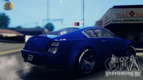 GTA 5 Enus Windsor IVF для GTA San Andreas вид слева