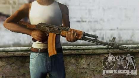 AK-74 для GTA San Andreas третий скриншот