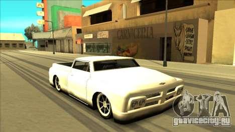 Slamvan Final для GTA San Andreas колёса