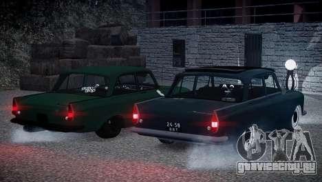 Москвич 412 для GTA 4 вид изнутри