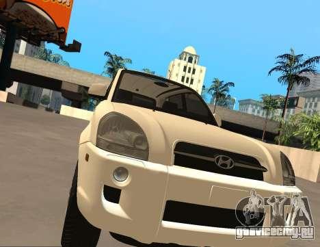 Hyundai Tucson для GTA San Andreas вид слева