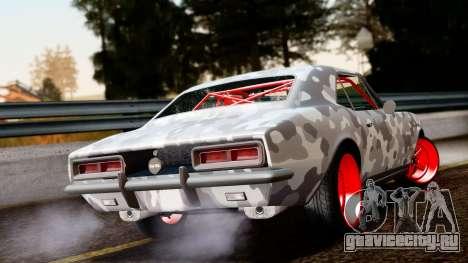 Chevrolet Camaro SS Camo Drift для GTA San Andreas вид слева