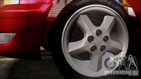 Toyota Chasher Tourer V для GTA San Andreas вид сзади слева