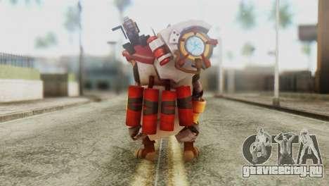 Clockwerk Skin from DoTA 2 для GTA San Andreas третий скриншот