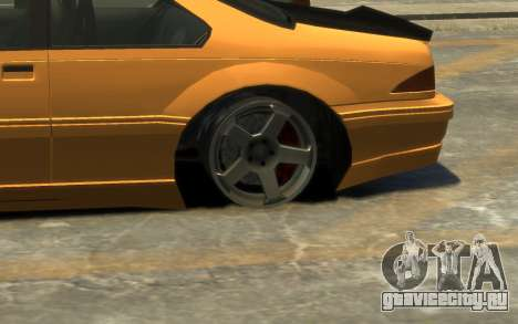 Vapid Fortune Drift для GTA 4 вид сверху