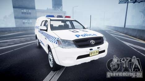 Toyota Hilux NSWPF [ELS] для GTA 4