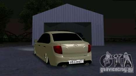 ВАЗ 2190 Sport для GTA San Andreas вид слева