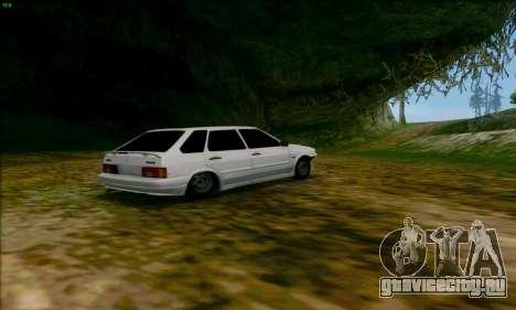 ВАЗ 2114 Аля Дубай для GTA San Andreas вид справа