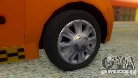 Tiba Taxi v1 для GTA San Andreas вид сзади слева