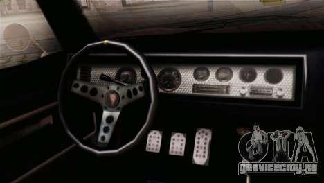 GTA 5 Imponte Dukes IVF для GTA San Andreas вид справа