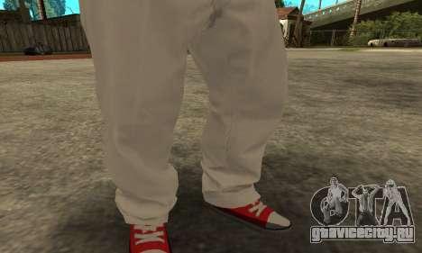 Skin Claude [HD] для GTA San Andreas третий скриншот