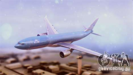Airbus A330-200 KLM New Livery для GTA San Andreas