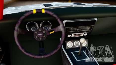Chevrolet Camaro SS Camo Drift для GTA San Andreas вид справа