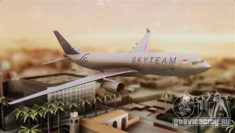 Airbus A330-200 Garuda Indonesia Sky Team для GTA San Andreas