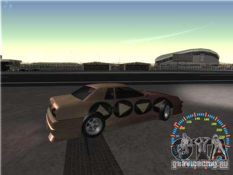 Простой спидометр для GTA San Andreas седьмой скриншот
