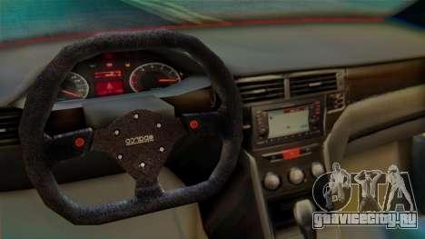 Proton Suprima S для GTA San Andreas вид сзади