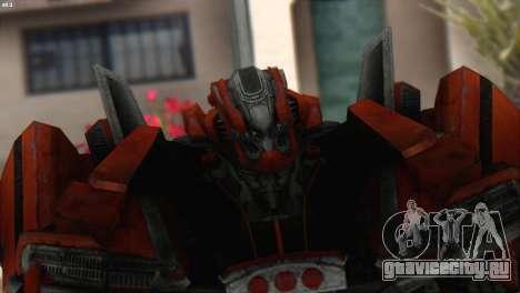 Autobot Titan Skin from Transformers для GTA San Andreas третий скриншот