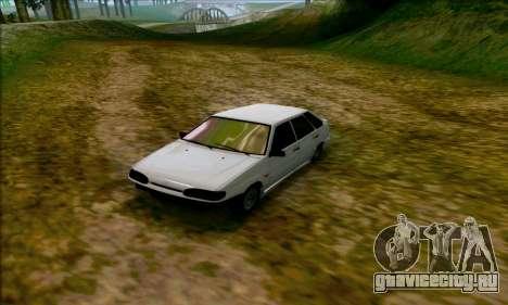 ВАЗ 2114 Аля Дубай для GTA San Andreas вид слева