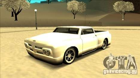 Slamvan Final для GTA San Andreas вид сзади слева