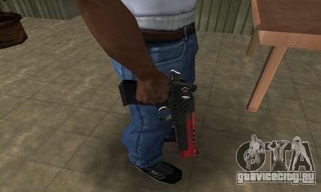 Red Tiger Deagle для GTA San Andreas второй скриншот