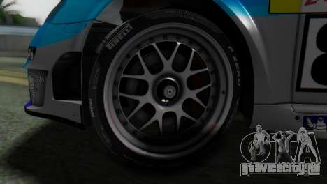 Porsche 911 GT3-RSR для GTA San Andreas вид сзади слева