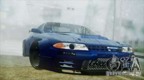 Nissan Skyline GT-R R32 Battle Machine для GTA San Andreas вид слева
