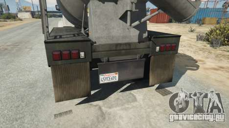 California State License plate для GTA 5 третий скриншот