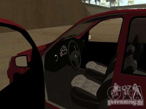Suzuki Fun 2009 для GTA San Andreas вид сзади