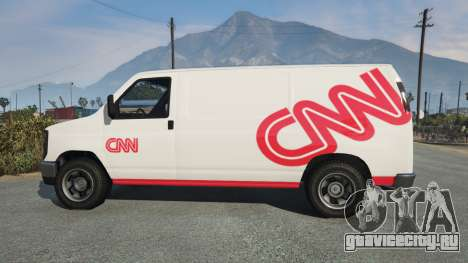 Bravado Rumpo CNN v0.2 для GTA 5 вид слева