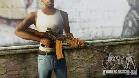 AK-74 Sight для GTA San Andreas третий скриншот