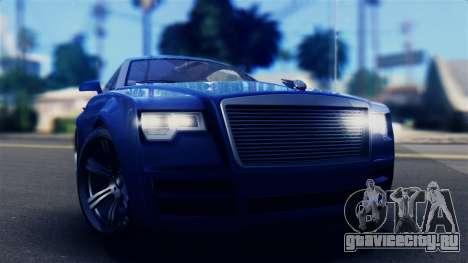 GTA 5 Enus Windsor IVF для GTA San Andreas вид справа
