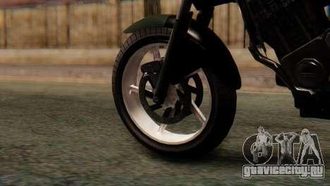 Bajaj Rouser 135 Stunt для GTA San Andreas вид сзади слева