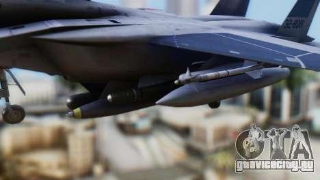F-22J Japan Air-Self Defense Force для GTA San Andreas вид справа