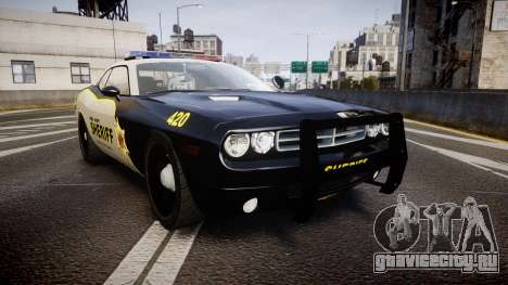 Dodge Challenger MCSO [ELS] для GTA 4