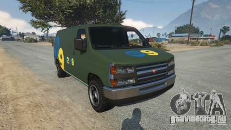 Bravado Rumpo KCAL v0.2 для GTA 5
