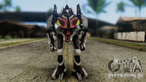 Soldier Jet Skin from Transformers для GTA San Andreas второй скриншот