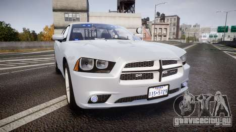 Dodge Charger Traffic Patrol Unit [ELS] bl для GTA 4