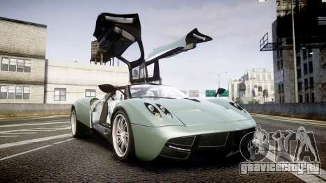 Pagani Huayra для GTA 4 вид сбоку