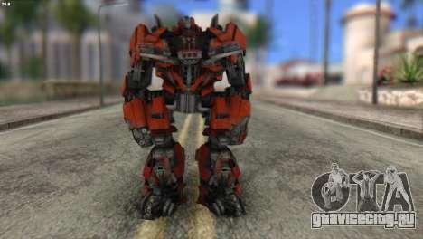 Autobot Titan Skin from Transformers для GTA San Andreas
