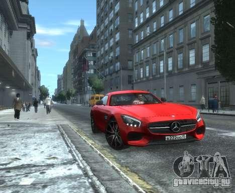 Mercedes-Benz SLS AMG GT 2015 для GTA 4