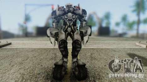 Sideswipe Skin from Transformers v2 для GTA San Andreas второй скриншот