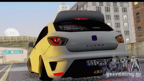 Seat Ibiza для GTA San Andreas вид слева