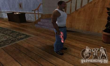 Black Lines Deagle для GTA San Andreas третий скриншот