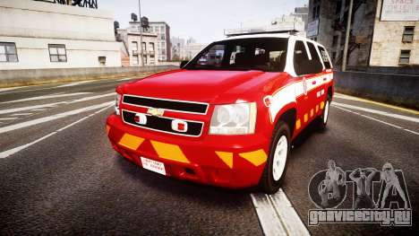 Chevrolet Tahoe 2013 Battalion Chief Unit [ELS] для GTA 4