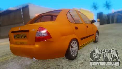 Tiba Taxi v1 для GTA San Andreas вид слева
