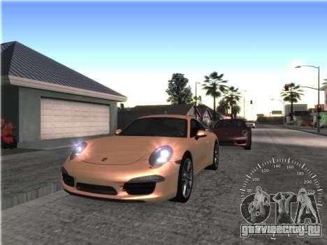 Простой спидометр для GTA San Andreas второй скриншот