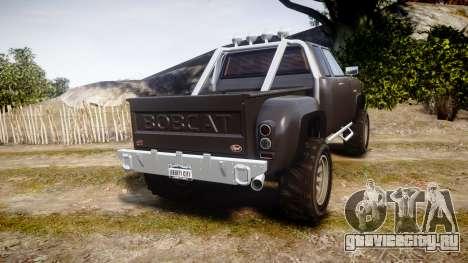 Vapid Bobcat Hillbilly для GTA 4 вид сзади слева