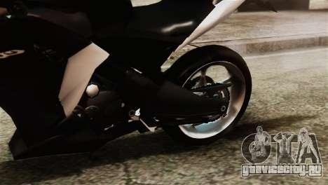Honda CBR250R для GTA San Andreas вид сзади